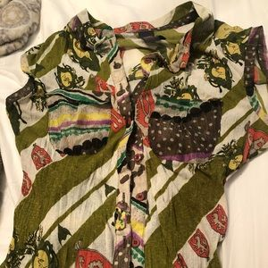 Anac button up blouse
